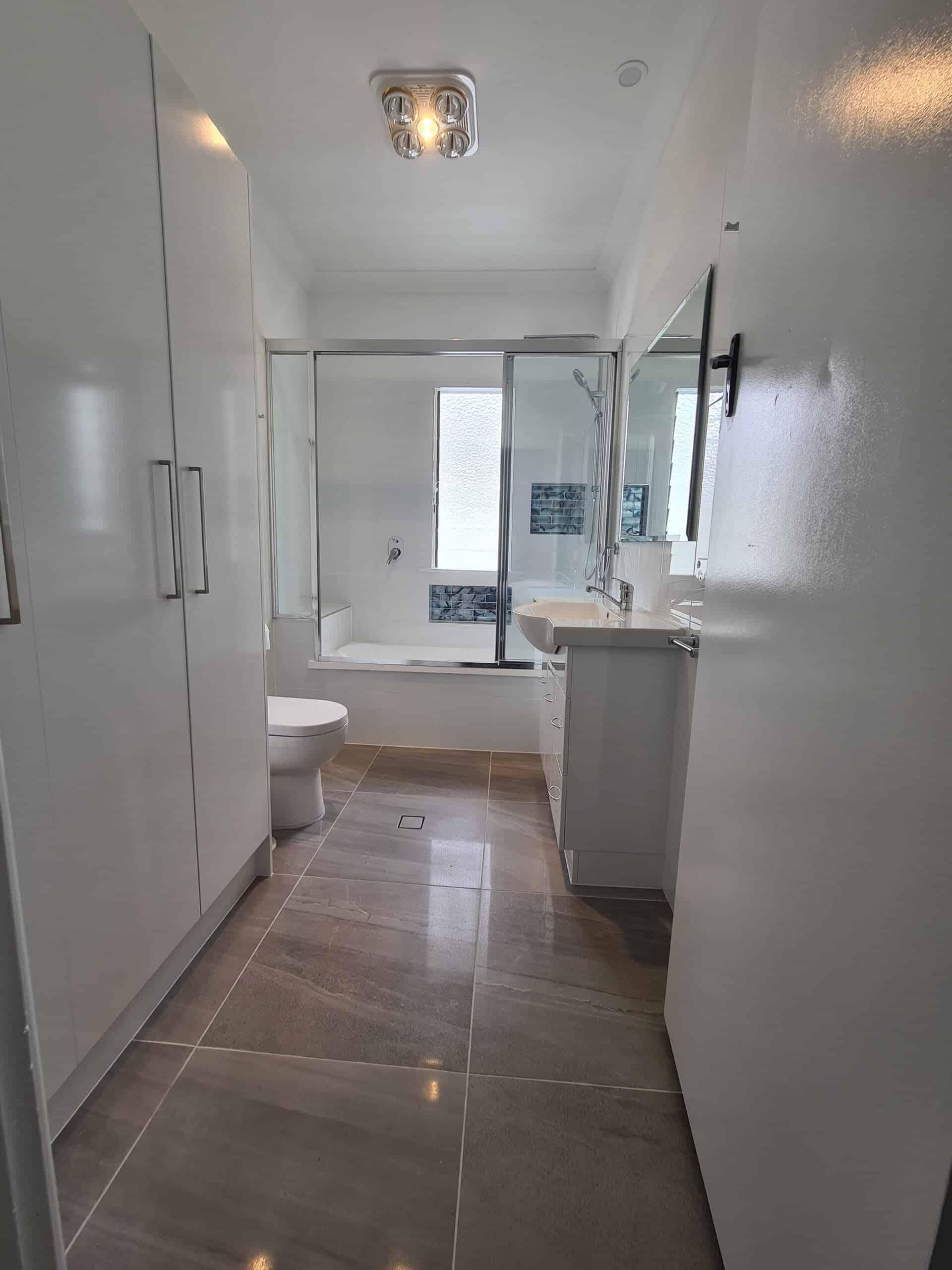 Stafford bathroom renovation