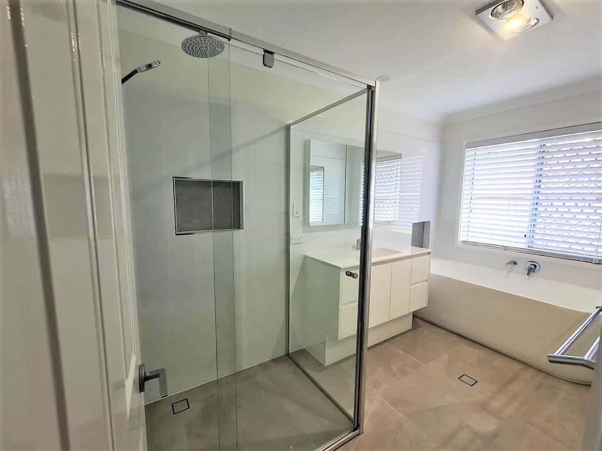 Ross Wishart remodel shower ant bathrub