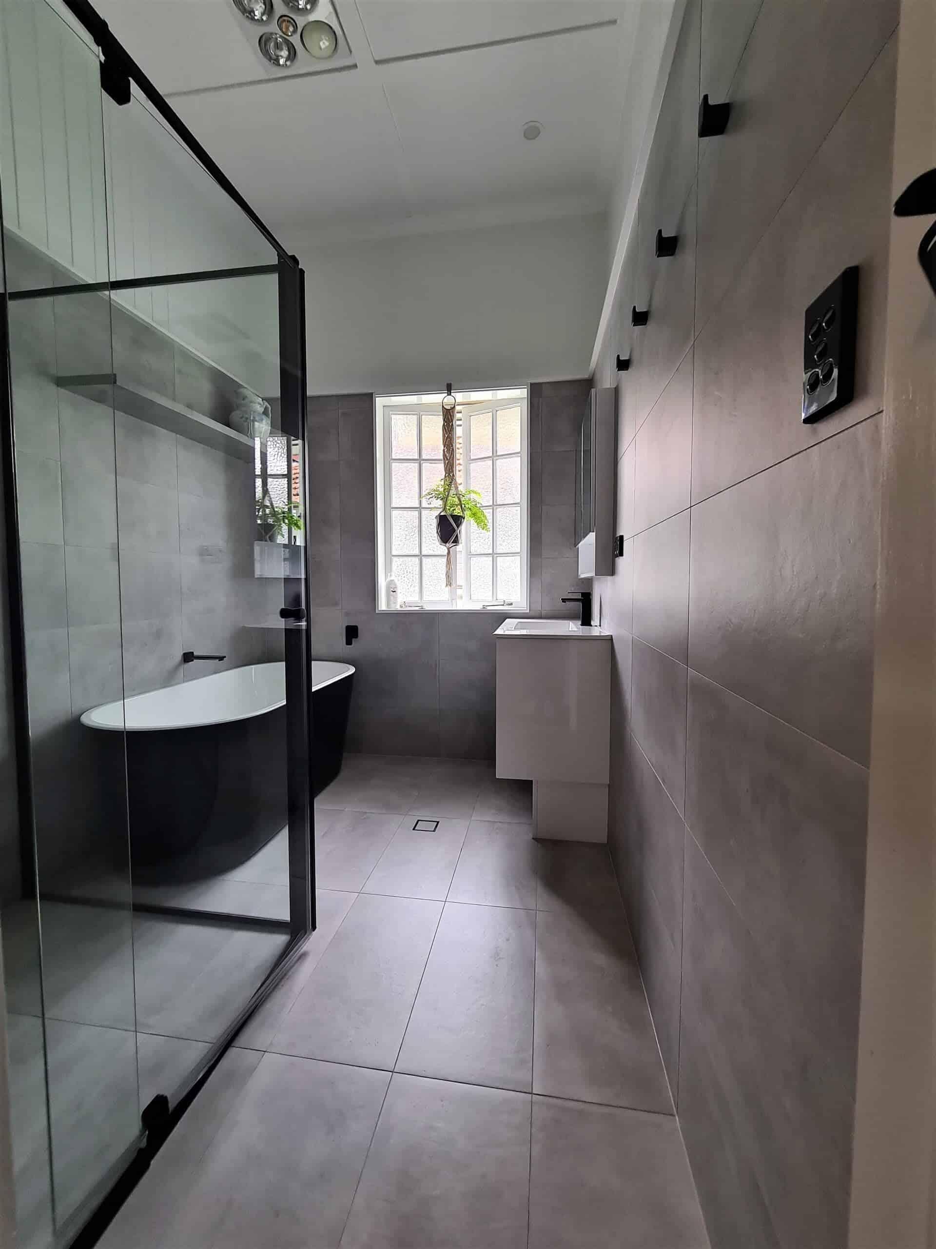 New Farm bathroom remodel