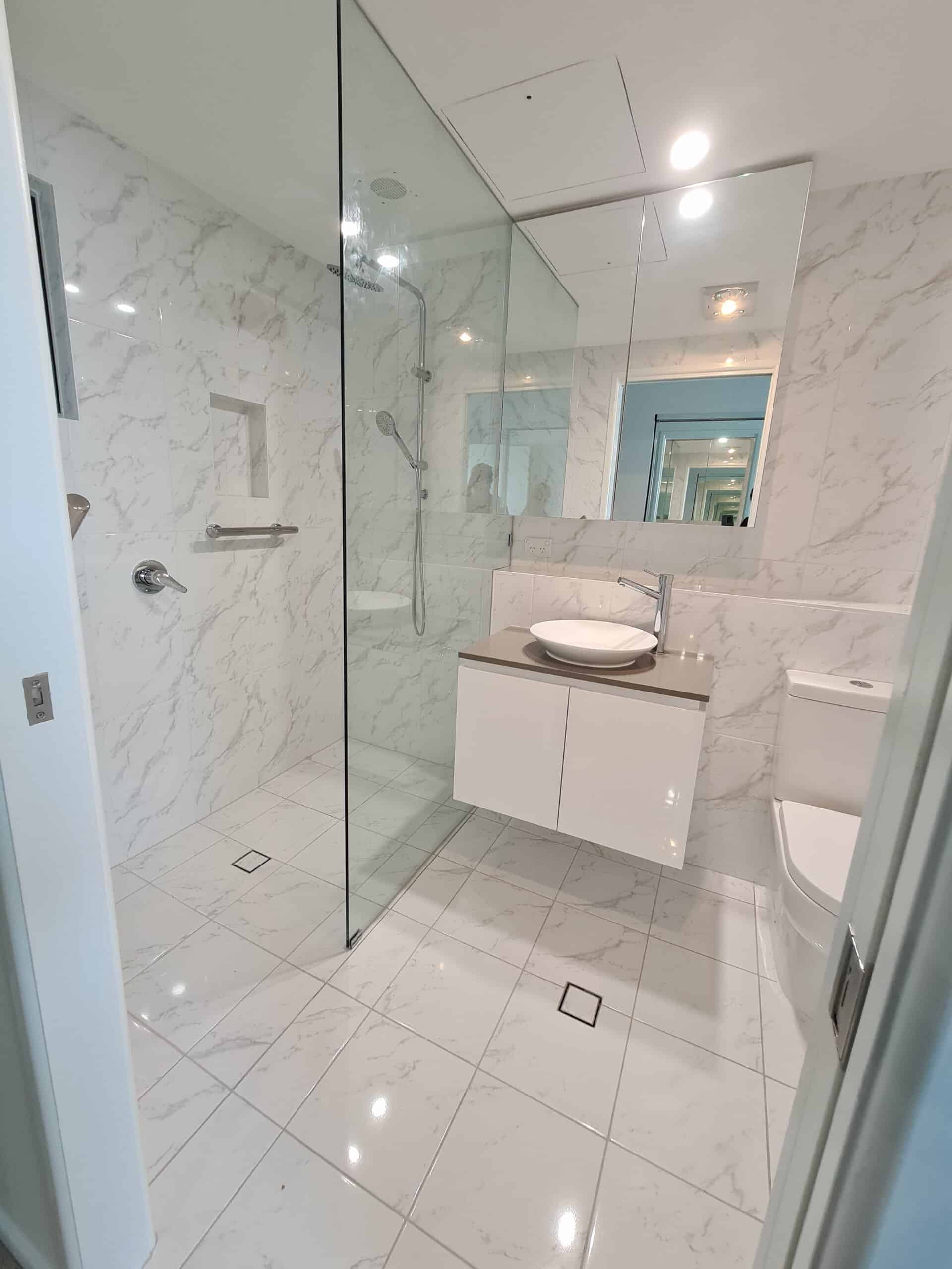 Kangaroo point bathroom renovation